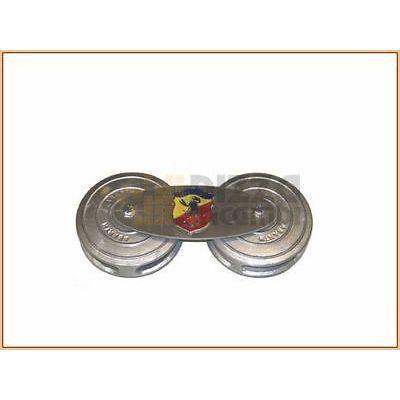 *FRP* DOPPIO PORTAFILTRO ARIA FIAT 500 C TOPOLINO double air filter holder