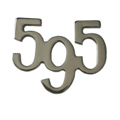 BADGE SCRITTA LATERALE FIAT 500 ABARTH 595 COMPETIZIONE TURISMO logo