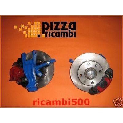 *FRP* KIT FRENI DISCO FIAT 500 126 modified brake disk