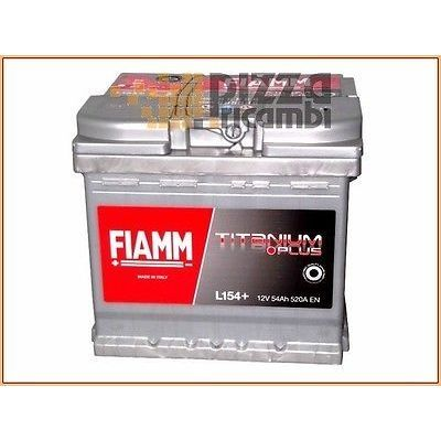 *FRP* BATTERIA AVVIO FIAMM FIAT PUNTO 75 ELX 54KW 73CV 93>99 - 176A8000 battery