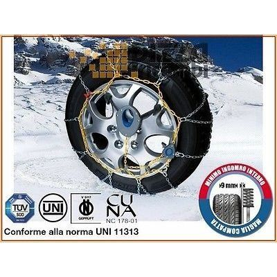 CATENE DA NEVE CORA MX2 9mm RUOTA 15