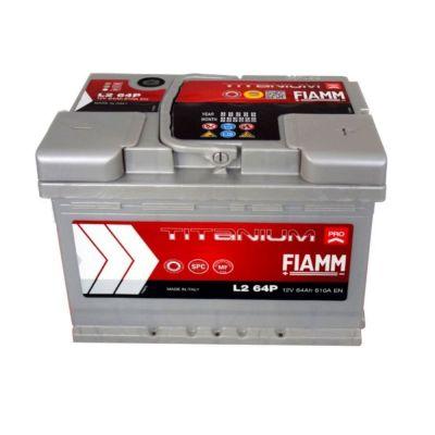 *FRP* BATTERIA AVVIO ALFA 159 05> JTS JTDM FIAMM TITANIUM 64Ah 610A +DX battery