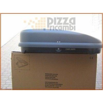 *IR24* BAULE BOX CARBOX TETTO 320 LITRI 125X90X33 GEV