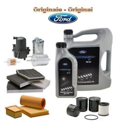 TAGLIANDO ORIGINALE FORD FOCUS C-MAX 2.0 TDCI 136 CV G6DA 08>11 3 FILTRI+OLIO