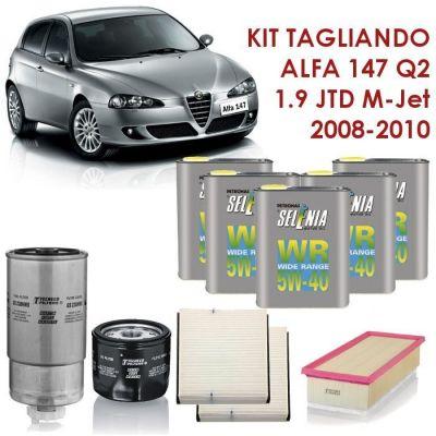 KIT TAGLIANDO ALFA ROMEO 147 1.9 JTD M-jet Q2 150CV 11/2008-04/2010 MOT.937A5000