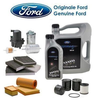 TAGLIANDO ORIGINALE FORD FOCUS 2.0 TDCI 136CV G6DD 04>07 4 FILTRI+OLIO oil