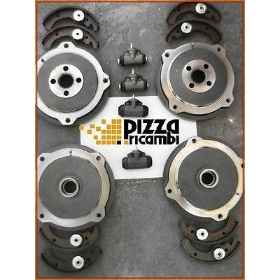 *FRP* FIAT 500 R 126 KIT BRAKE DRUMS + SHOE + CYLINDERS freni frenos