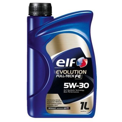 OLIO ELF EVOLUTION FULL-TECH FE (ex SOLARIS DPF) 5W30  1 litro RENAULT ORIGINALE